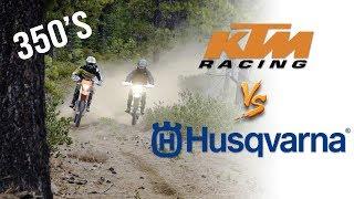 6. KTM 350 EXC-F  VS. Husqvarna FE350 | Owners Swap Bikes