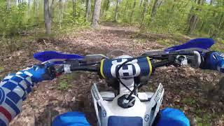 3. New Bike Reveal & First trail ride. 2018 Husky TX300