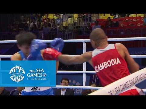Boxing (Day 2) Men's Light Welter Wt. (60kg-64kg) - Bout 27 | 28th SEA Games Singapore 2015