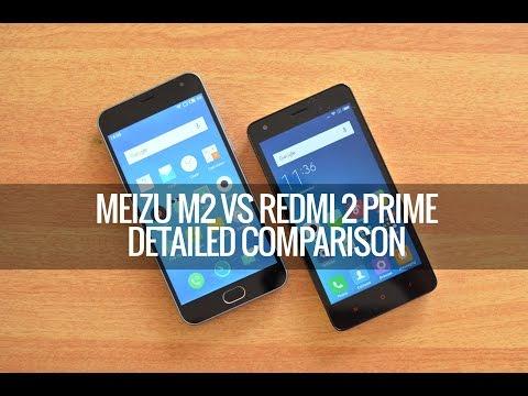 Meizu M2 vs Xiaomi Redmi 2 Prime- Detailed Comparison