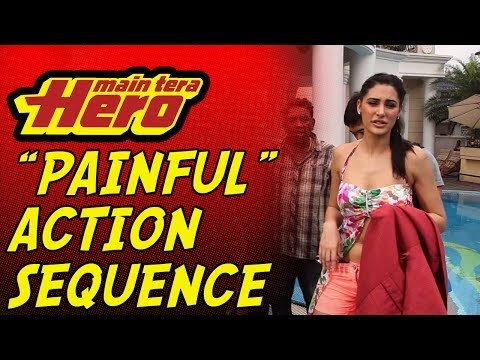 """Wet & Painful"" Action Sequence!! Main Tera Hero"