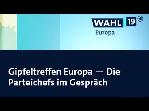 Gipfeltreffen Europa — Die Parteichefs im Gespräch #GehtWählen