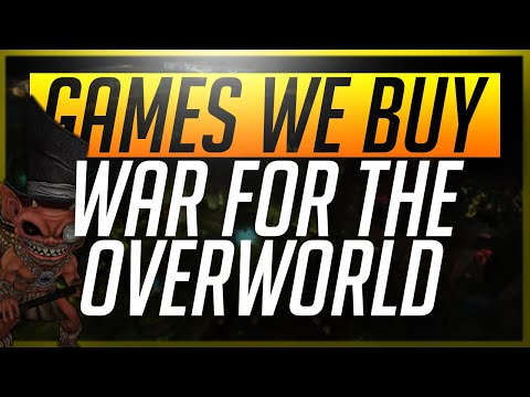 Games We Buy... War For The Overworld (видео)