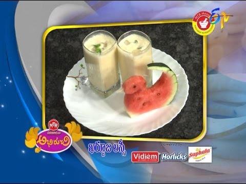 Abhiruchi--Kharbuja-Lassi--ఖర్బూజ-లస్సీ