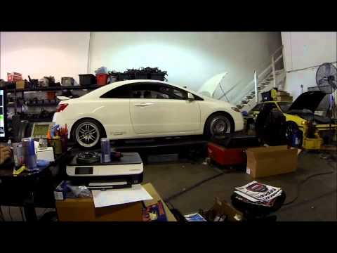 Civic Si N/A Hondata Flashpro Dyno Tuned @ Import Auto Pros
