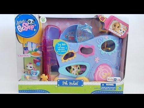 LPS Littlest Pet Shop Pet Hotel Set 2011 Review