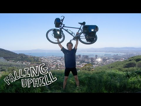 Falling Uphill: One man's quest for happiness around the world on a bicycle