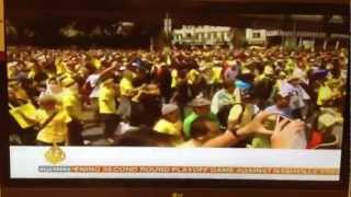 [Bersih 3.0] Al Jazeera News Reporter Camera Being Smashed by Police Malaysia in Rally Protest 428