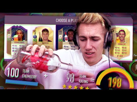 THE DRUNK FIFA 18 DRAFT! (видео)