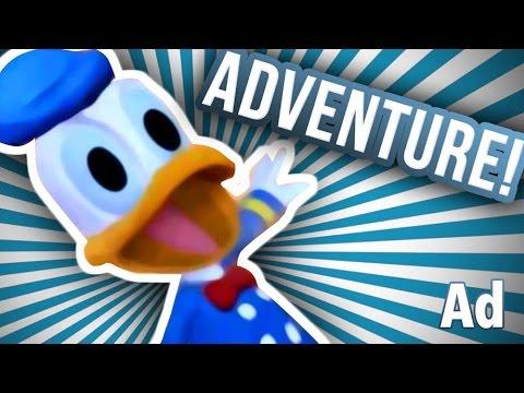 ADVENTURES OF DONALD! (Disney Infinity)