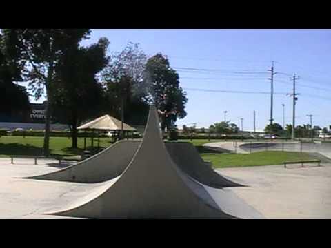 Belmont skate park - perfect spine.MOD