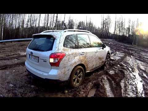 Subaru Forester 4x4 Off Road Mud (видео)