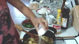 Green Curry Shrimp (Stir fried Shrimp) - Thai Food Recipe