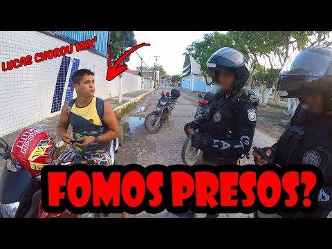 DESAFIO DO BALÃO DE ÁGUA EM DESCONHECIDOS. DEU POLÍCIA