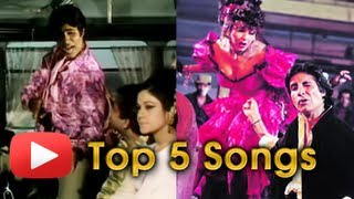 Amitabh Bachchan's Top 5 Popular Songs - Birthday Special