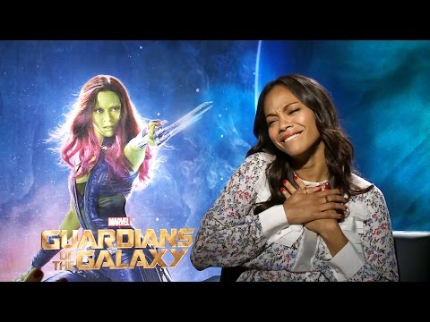 gets - Zoe Saldana Talks Guardians & Gets Surprise Guest Subscribe Now! ▻ http://bit.ly/SubClevverMovies Guardians of the Galaxy Trailer ▻ http://youtu.be/Y2bj8e9_zjo We sat down with Zoe Saldana...