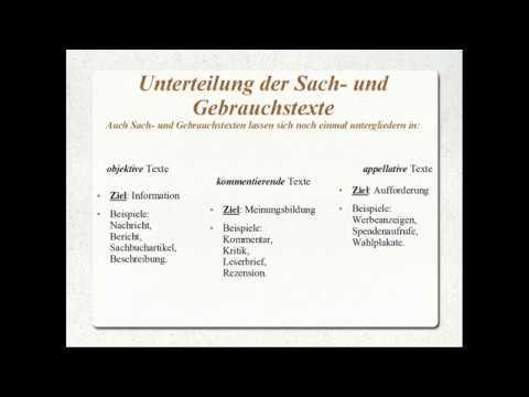 eLearning Deutsch: Literarische Texte / Sach- und Gebr ...