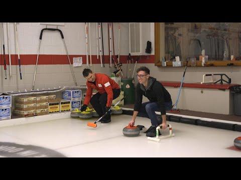 Dean Gemmell takes Inside Edition Curling