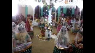 Krishna Ras-Leela (on Dul-Yatra) : Radha&Krishna - At Machimpur,Sylhet,Bangladesh(12&13/03/12).