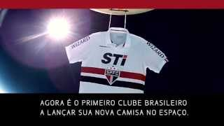 Sao Paulo F.C. sends new kit into space!