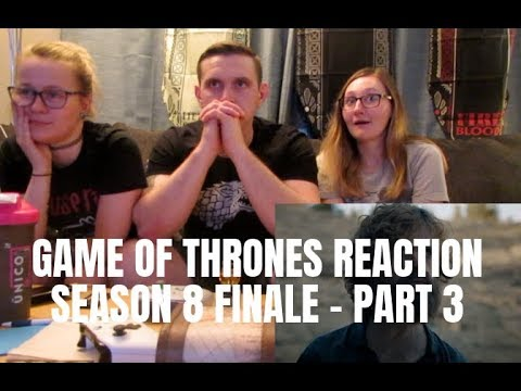 GAME OF THRONES SEASON 8 FINALE REACTION - PART 3