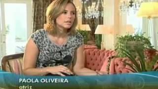 JORNAL HOJE: Renata Capucci Entrevista Paola Oliveira
