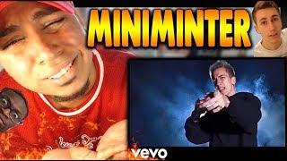 LAST DISSTRACK? Miniminter KSI'S LITTLE BROTHER - DEJI DISS TRACK (OFFICIAL MUSIC VIDEO) REACTION