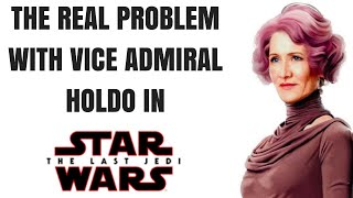 Video Vice Admiral Holdo in The Last Jedi: A Real Problem MP3, 3GP, MP4, WEBM, AVI, FLV Maret 2018