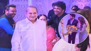 Video Super Star Krishna and Vijaya Nirmala @ Chay Sam Wedding Reception | Naga Chaitanya, Samantha | TFPC MP3, 3GP, MP4, WEBM, AVI, FLV November 2017