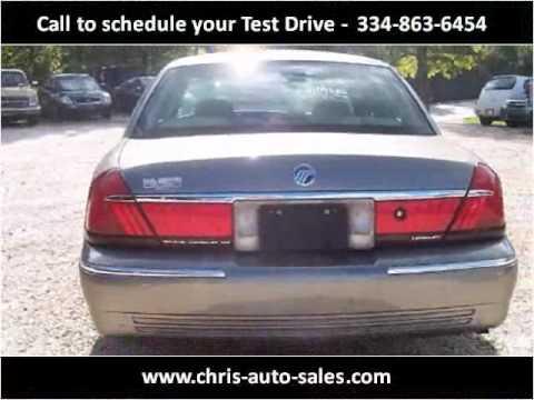 2001 Mercury Grand Marquis Used Cars Roanoke AL