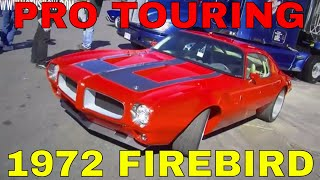 """Pro Touring 1972 Firebird \""""Code Red\"""" Video Feature V8TV"""