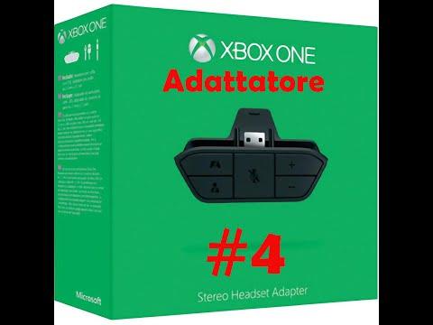 #4 mini UNBOXING adattatore cuffie stereo Xbox one [ITA]