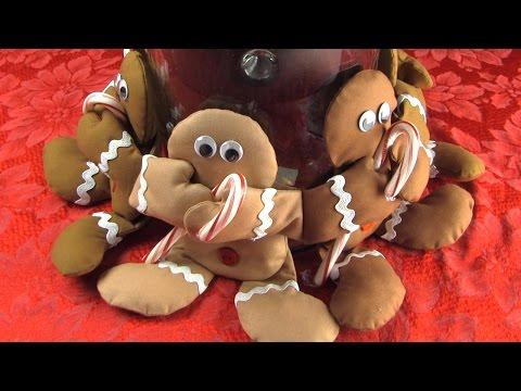 Sweet Candy Hugs - Make a Gingerbread Centerpiece
