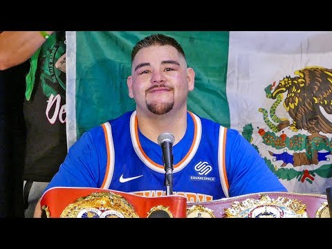 Andy Ruiz FULL POST FIGHT PRESS CONFERENCE vs. Anthony Joshua
