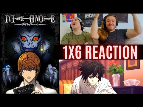 FIRST TIME WATCHING: Death Note ep. 6...MEET L!!!!