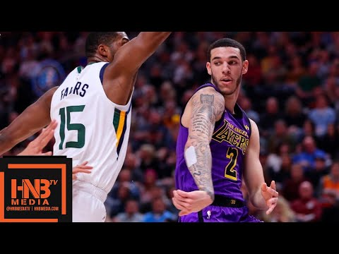 Los Angeles Lakers vs Utah Jazz Full Game Highlights   01/11/2019 NBA Season