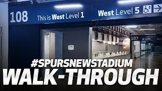 Take a walk inside the New Spurs Stadium