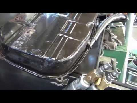 JUST mercedes-benz W124 Rust repair