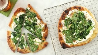 Spinach and Yogurt Flatbread - Everyday Food with Sarah Carey by Everyday Food