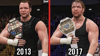 All Of Dean Ambrose title wins in WWE since his Debut in main roaster from 2013 to 2017 recreated in WWE 2K17.Subscribe to Bestintheworld https://goo.gl/bh0dMlFollow me on Twitter https://goo.gl/g2hpKr