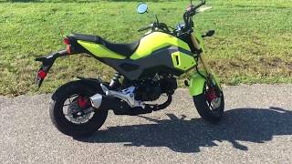 2. 2018 Honda GROM Review - First Impressions!