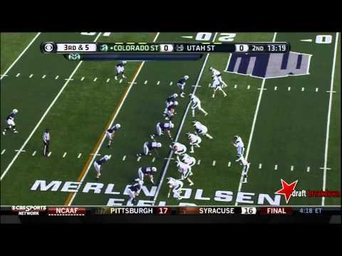 Weston Richburg vs Utah St. 2013 video.
