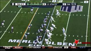 Weston Richburg vs Utah State (2013)
