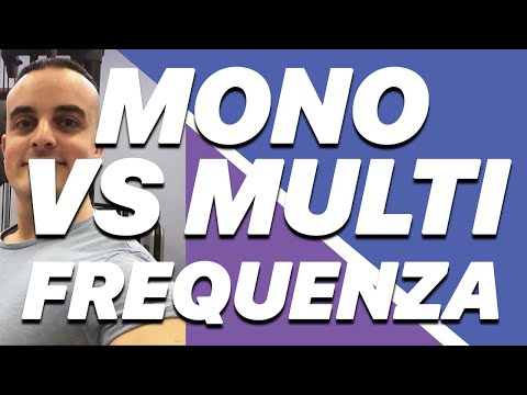 Scheda Palestra: Monofrequenza o Multifrequenza?