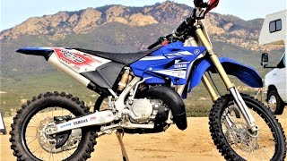 6. 2017 Yamaha YZ250X 2 stroke off-road bike - First Impression