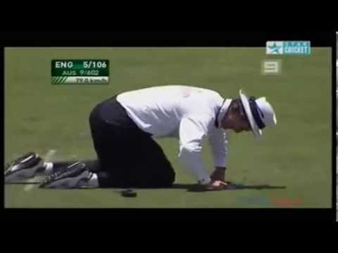 Billy Bowden funney moment