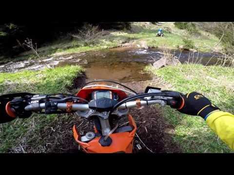 Enduro ride - KTM EXC 525, 400, Husqvarna TE 610