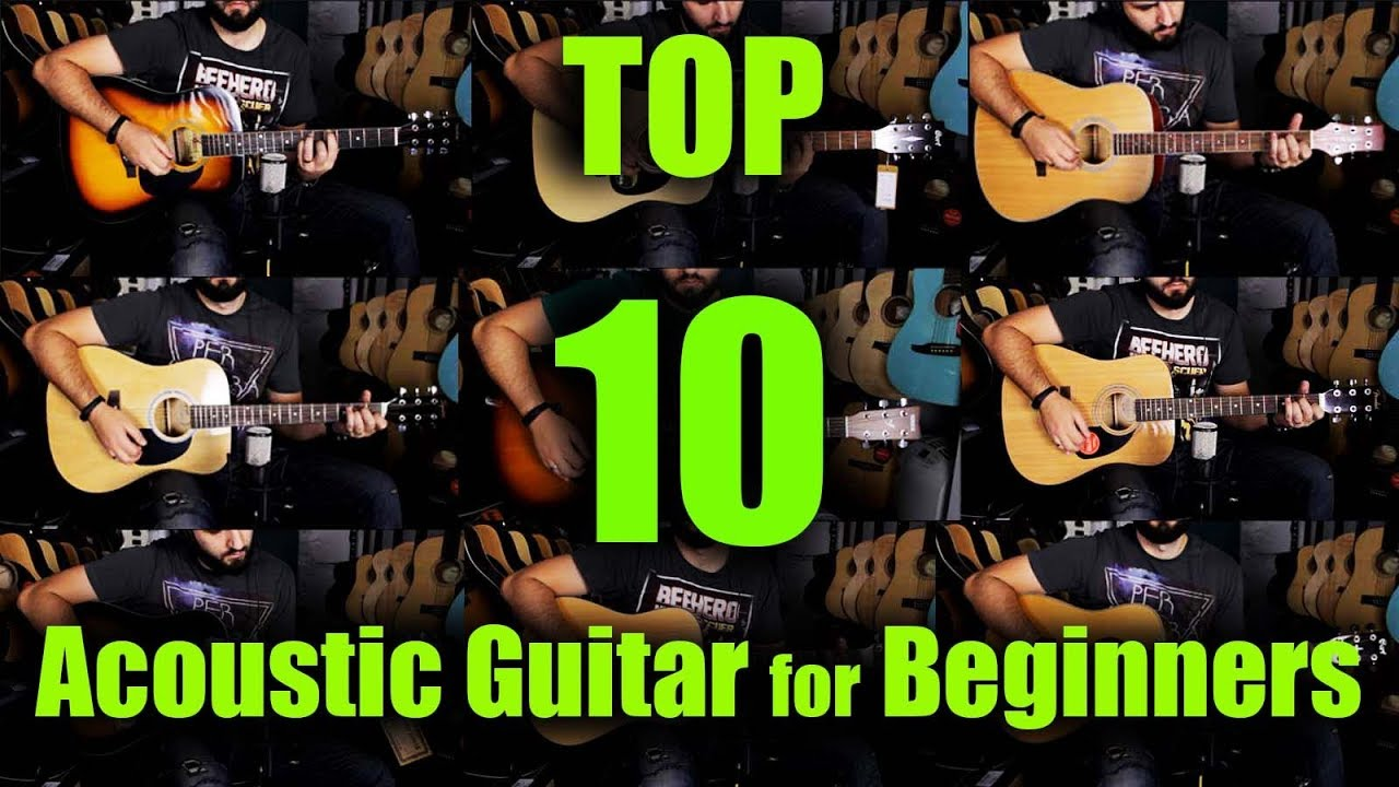Top 10 Best Acoustic Guitar for Beginners 2019