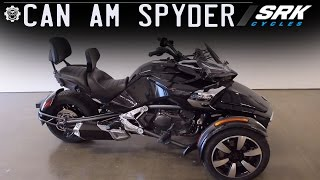 9. Manual trans Can Am Spyder F3S