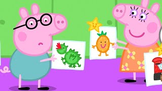 Peppa Pig English Episodes 🌟 Peppa Pig's Playgroup Star  🌟 Peppa Pig Official